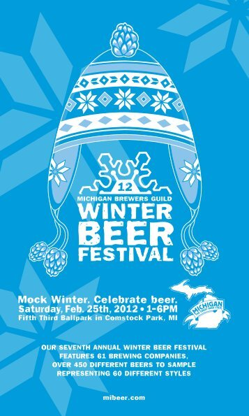 Mock Winter. Celebrate beer. - Michigan Brewers Guild