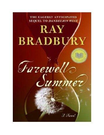 Farewell Summer ~ Ray Bradbury - Marimarister
