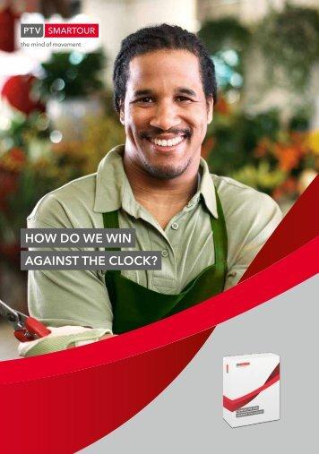HOw dO we win AgAinST THe clOck? - PTV Smartour - PTV Group