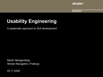 Usability Engineering - SPIQ