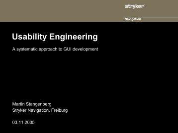 Usability Engineering - SPIQ