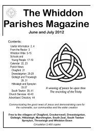 June/July 2012 - The church of St Michael the Archangel, Chagford