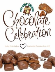 Click and View our Chocolate Indulgence brochure - The Chip Shoppe