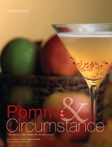 Pomme and Circumstance - The Modern Mixologist