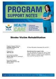 Stroke Victim Rehabilitation - VEA