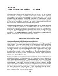 CHAPTER 1 COMPONENTS OF ASPHALT CONCRETE - Virginia ...