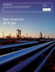 ayout 1 - Weir Oil & Gas Division