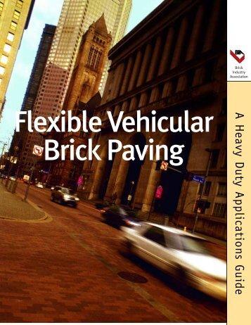 Flexible Vehicular Brick Paving