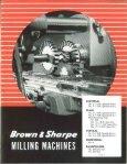 Brown & Sharpe Milliing Grinder & Screw Machine - Sterling ... - Page 5