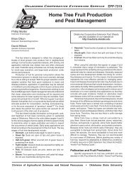 Home Tree Fruit Production and Pest Management - OSU Fact ...
