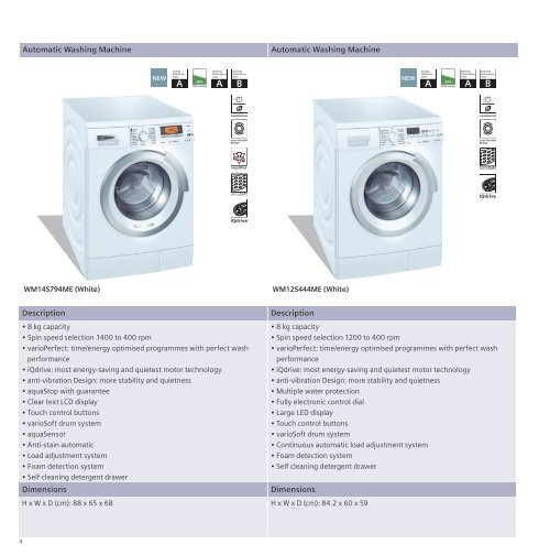 4 Automatic Washi