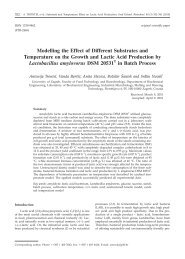 Modelling the Effect of Different Substrates and Temperature on the ...