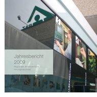 Jahresbericht 2009 - Regionales Arbeitszentrum RAZ
