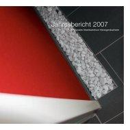 Jahresbericht 2007 - Regionales Arbeitszentrum RAZ