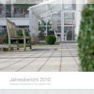 Jahresbericht 2010 - Regionales Arbeitszentrum RAZ