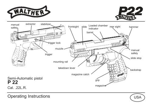 walther p22 parts diagram wiring diagram Walther PPK walther p22 manual smith \\u0026 wessonwalther p22 parts diagram 3