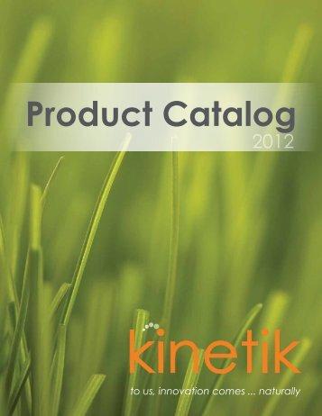 Product Catalog - Kinetik
