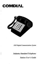 Industry-Standard Telephone Station User's Guide - TextFiles.com