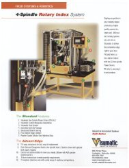 4-Spindle Rotary Index System