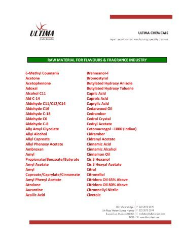 Product_list For Flavour & Fragrance.pdf
