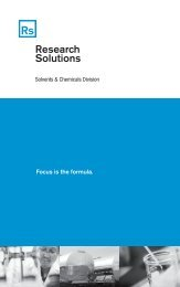 Focus is the formula. - Research Solutions