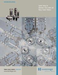 Spindle Tooling for Automatics, Turret Lathes and ... - Hardinge Inc.