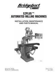 EZPLUS™ AUTOMATED MILLING MACHINES