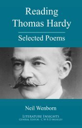 Reading Thomas Hardy - Humanities-Ebooks