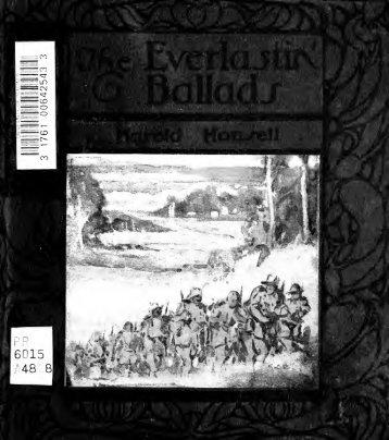 The everlastin' ballads, ballads of Empire