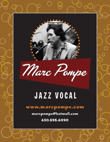 JAZZ VOCAL - Marc Pompe