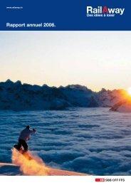 Rapport annuel 2006. - RailAway