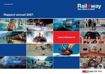 Rapport annuel 2007. - RailAway