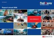 Rapport annuel 2008. - RailAway
