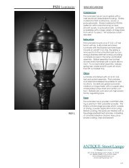 FS31 - ANTIQUE Street Lamps
