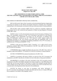 MEPC 56/23/Add.1 ANNEX 13 RESOLUTION MEPC.166(56 ...