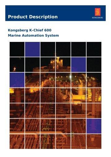K-Chief 600 product description - Kongsberg Maritime