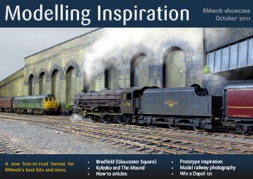 Modelling Inspiration - October 2011 - RMweb