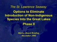 Committee on the St. Lawrence Seaway - Transportation Research ...