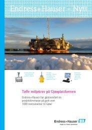 Nummer 1 2011 (PDF 2,46 MB) - Endress+Hauser Norway
