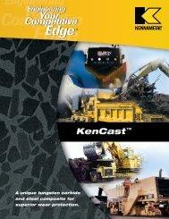 KenCast Catalog (B02-33) - Kennametal