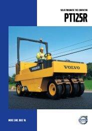 Product Brochure PT125R English - Volvo Construction Equipment