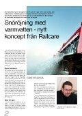 Varmvatten bot mot snökaos Varmvatten bot mot snökaos - Railcare - Page 2