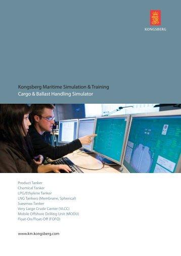 Cargo and ballast simulators - Kongsberg Maritime