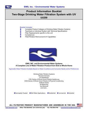 UU250 - Environmental Water Systems