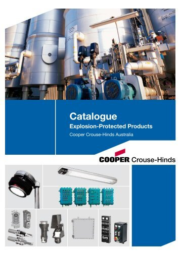 Catalogue Explosion-Protected Products - Cuthbert Stewart Limited