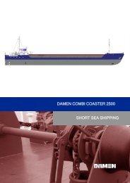 short sea shipping damen combi coaster 2500 - Damen Shipyards ...