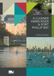 a cleaner yarra river & port phillip bay - Department of Sustainability ...