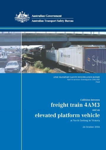 PDF: 4.61MB - Australian Transport Safety Bureau