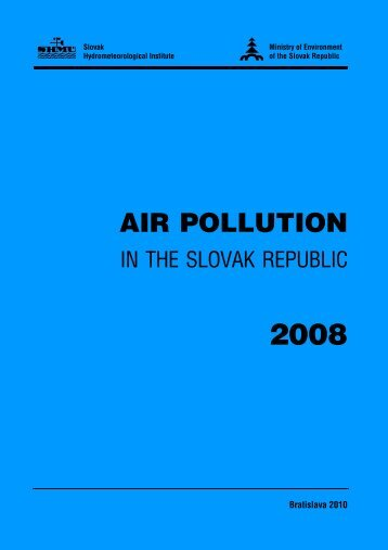 AIR POLLUTION - SHMÚ