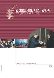 Informe anual 2001 - EOI